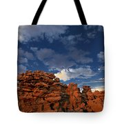 Eroded Sandstone Formations Fantasy Canyon Utah Tote Bag
