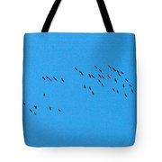 Eurasian Cranes Tote Bag