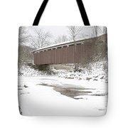 Everett Covered Bridge  Tote Bag