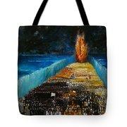 Exodus Tote Bag by Richard Mcbee