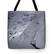 Extreme Skier Going Fast In Beautiful Tote Bag