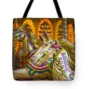 Fairground Carousel Tote Bag