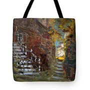 Fall In Albanian Village  Tote Bag