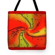 Fantasy In Red Tote Bag