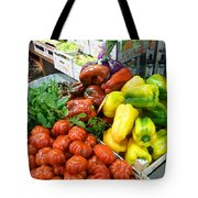 Farmers Market Florence Italy Tote Bag