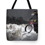 Fat Tire Bike Tote Bag