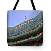 Fenway's 100th Tote Bag