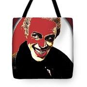 Film Homage Conrad Veidt The Man Who Laughs 1928-2013 Tote Bag
