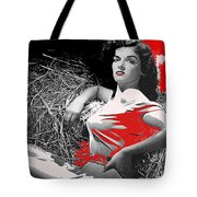 Film Homage Jane Russell The Outlaw 1943 Publicity Photo Photographer George Hurrell 2012 Tote Bag
