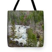 Firehole Falls Tote Bag