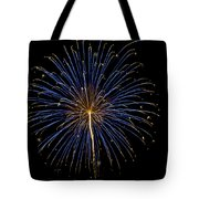 Fireworks Bursts Colors And Shapes Tote Bag