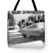 First Supersonic Aircraft, Bell X-1 Tote Bag