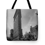 Flatiron Building Manhattan  Tote Bag