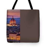 Florence Duomo Tote Bag
