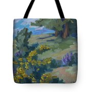 Flowering Meadow Tote Bag