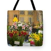 Flowers At Market Tote Bag