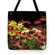 Flowers Gone Wild Tote Bag