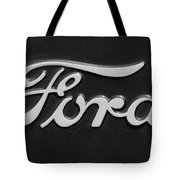 Ford Emblem Tote Bag