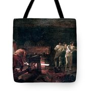Foundry, 18th Century Tote Bag