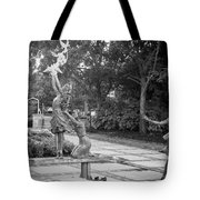 Four Little Girls Tote Bag