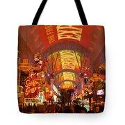 Fremont Street Experience Las Vegas Nv Tote Bag