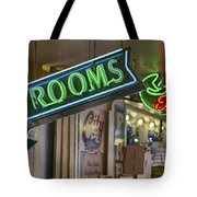 Fresh Restrooms Tote Bag