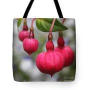 Fuchsia Named Dark Eyes Tote Bag