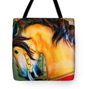 Paris Galloper   Tote Bag