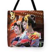 Geishas Senso Ji Tote Bag