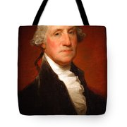 George Washington By Gilbert Stuart -- 2 Tote Bag