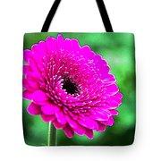 10188 Purple Gerbera Tote Bag