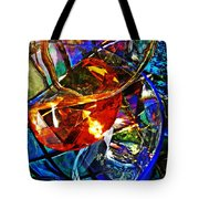 Glass Abstract 691 Tote Bag