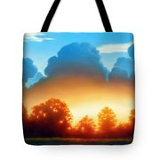 Glowing Tote Bag