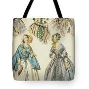 Godey's Lady's Book, 1842 Tote Bag