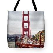 Golden Gate Bridge - San Francisco California Tote Bag