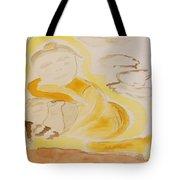 Golden Maiden Tote Bag