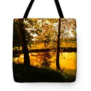 Golden Pond 3 Tote Bag