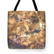Golden Synapse Tote Bag
