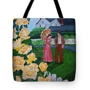 Grace Under The Parasol Tote Bag