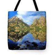 Grand Teton Mirror Tote Bag