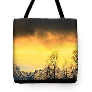Grand Tetons Wyoming Tote Bag