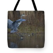 Great Blue Water Landing Tote Bag