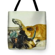 Great Dane And Australian Sheperd Tote Bag