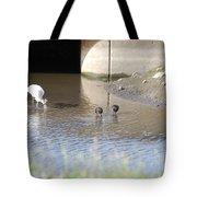 Great White Heron Tote Bag
