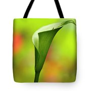 Green Calla Lily Tote Bag