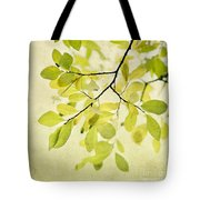 Green Foliage Series Tote Bag
