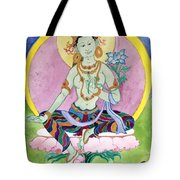 Green Tara 13 Tote Bag