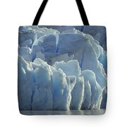 Grey Glacier In Chilean National Park Tote Bag