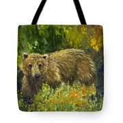 Grizzly Study 2 Tote Bag