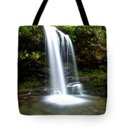 Grotto Falls Tote Bag by Frozen in Time Fine Art Photography